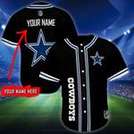 Dallas Cowboys Personalized Baseball Jersey Shirt 92