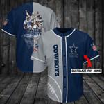 Dallas Cowboys Personalized Baseball Jersey Shirt 93