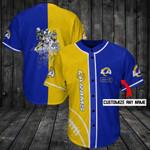 Los Angeles Rams Personalized Baseball Jersey Shirt 99