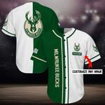 Milwaukee Bucks Personalized Baseball Jersey Shirt 105