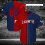 Washington Nationals Personalized Baseball Jersey Shirt 113