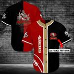 San Francisco 49ers Personalized Baseball Jersey Shirt 87