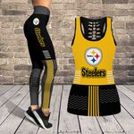 Pittsburgh Steelers Leggings And Tank Top 124