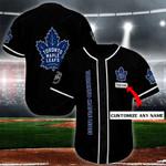 Toronto Maple Leafs Personalized Baseball Jersey Shirt 130