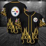 Pittsburgh Steelers Personalized Baseball Jersey Shirt 140