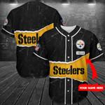 Pittsburgh Steelers Personalized Baseball Jersey Shirt 153