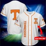 Tennessee Volunteers Personalized Baseball Jersey Shirt 164