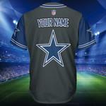 Dallas Cowboys Personalized Baseball Jersey Shirt 172