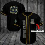 Notre Dame Fighting Irish Personalized Baseball Jersey Shirt 175