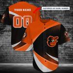 Baltimore Orioles Personalized Baseball Jersey Shirt 182