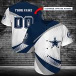 Dallas Cowboys Personalized Baseball Jersey Shirt 190