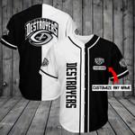 Columbus Destroyers Personalized Baseball Jersey Shirt 204