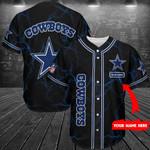 Dallas Cowboys Personalized Baseball Jersey Shirt 205