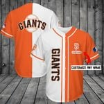 San Francisco Giants Personalized Baseball Jersey Shirt 210