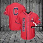 Cleveland Indians Personalized Baseball Jersey Shirt 212