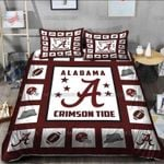 NCAA Alabama Crimson Tide Bedding set 003