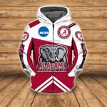 NCAA Alabama Crimson Tide All Over Print Hoodie Zip Hoodie T shirt 650