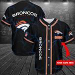 Denver Broncos Personalized Baseball Jersey Shirt 223