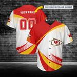 Kansas City Chiefs Personalized Baseball Jersey 234
