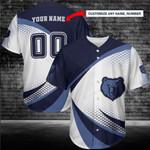 Memphis Grizzlies Personalized Baseball Jersey 238