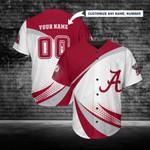 Alabama Crimson Tide Personalized Baseball Jersey 247
