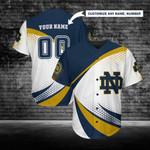 Notre Dame Fighting Irish Personalized Baseball Jersey 255