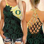 Oregon Ducks NCAA2-CrossTank top Polynesian
