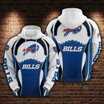 Buffalo Bills Limited Edition Men's and Women's All Over Print Hoodie Size S-5XL