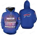 Buffalo Bills Limited Edition All Over Print Sweatshirt Zip Hoodie T shirt Hoodie Size S-5XL