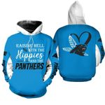 NFL Carolina Panthers Limited Edition All Over Print Hoodie Sweatshirt Zip Hoodie T shirt  Unisex Size