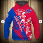 NFL Buffalo Bills Limited Edition All Over Print Zip Hoodie T shirt Hoodie Size S-5XL
