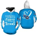 NFL Tennessee Titans Limited Edition All Over Print Hoodie Sweatshirt Zip Hoodie T shirt  Unisex