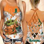 Miami Hurricanes NCAA1-CrossTank top Crossshirt