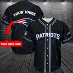New England Patriots Personalized Baseball Jersey 276