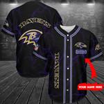 Baltimore Ravens  Personalized Baseball Jersey 277