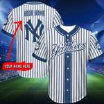 New York Yankees Personalized Baseball Jersey 279