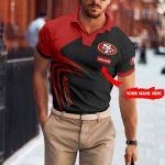 San Francisco 49ers Personalized Polo T-shirt 038