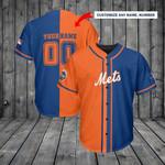New York Mets Personalized Baseball Jersey Shirt 117