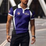 Baltimore Ravens Polo T-shirt 044