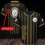 Pittsburgh Steelers Personalized Baseball Jersey 286