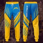 Los Angeles Chargers 3D Printed pocket Sweatpant 113