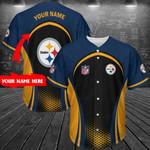 Pittsburgh Steelers Personalized Baseball Jersey 287