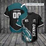 Philadelphia Eagles Personalized Baseball Jersey 300