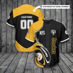Pittsburgh Steelers Personalized Baseball Jersey 301