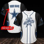 Dallas Cowboys Personalized Baseball Jersey 305