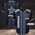 Dallas Cowboys Personalized Baseball Jersey 308