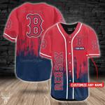 Boston Red Sox Personalized Baseball Jersey 309