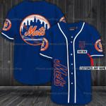 New York Mets Personalized Baseball Jersey 316