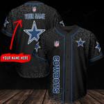 Dallas Cowboys Personalized Baseball Jersey 327