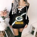 Green Bay Packers Lace-Up Sweatshirt 39